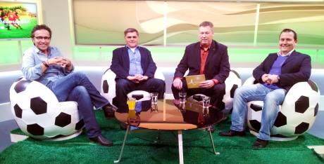 Von links: Christian Sprenger, Wolfgang Weber, Ralf Friedrichs und Holger Schmidt