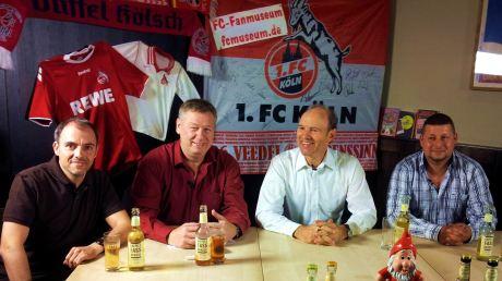 v.l. Dominik Dünwald, Ralf Friedrichs, Roland Koch und Marko Willems