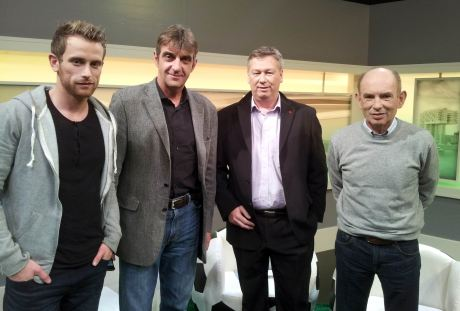 v.l. Thomas Werner, Ralf Minge, Ralf Friedrichs, Hannes Linßen