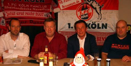 v.l. Frederic Latz, Ralf Friedrichs, Dieter Prestin und Dirk Unschuld